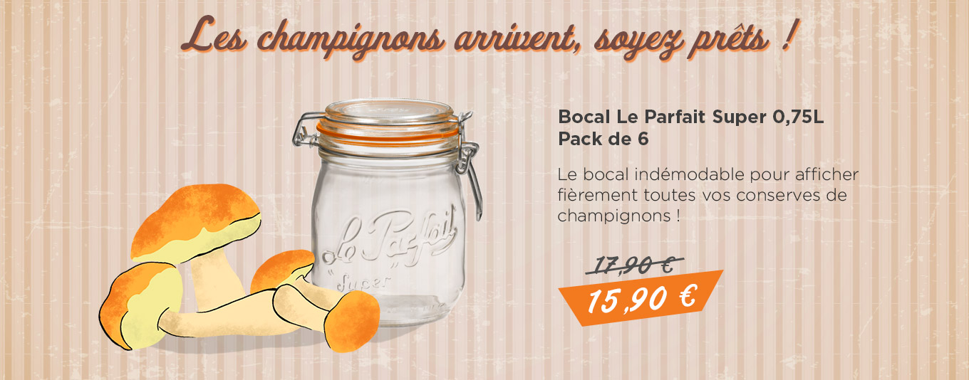 Promo bocal le Parfait super